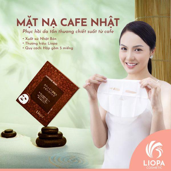 Mặt nạ cà phê Nhật LIOPA | Mặt nạ cafe có tốt không?